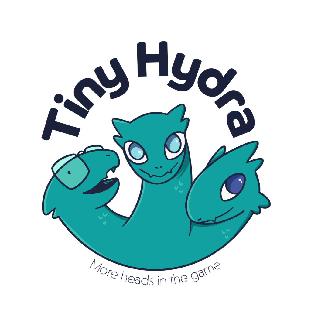 Tiny Hydra logo with tagline